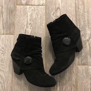 Black Booties - Vintage